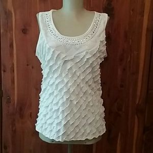Ashley Hill ivory top